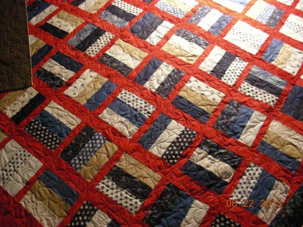 Nancy D. Knee Shaker Quilt