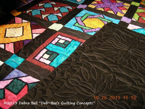 Jo T. Stained Glass Quilt