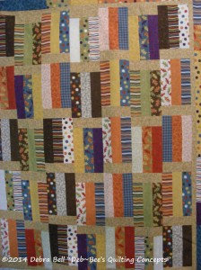 Quilt Top before quilting