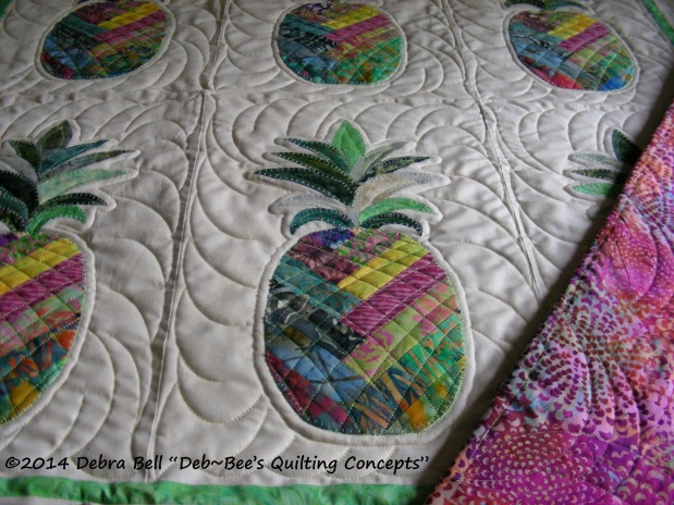 Pineapple Applique from Nancy R