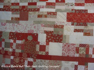 Ready for the quilting frame...