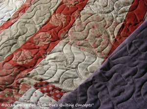 Quilting complete...ready for binding